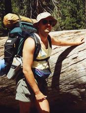 That's me in Little Yosemite Valley